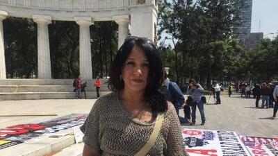 Ana Laura, una mexicana deportada que tenía la esperanza de que Clinton ganara para volver a estar con sus hijos