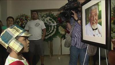 El funeral de Rubén Aguirre