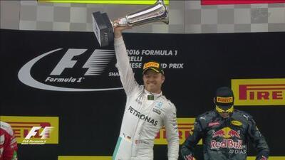 Nico Rosberg aseguró su liderazgo ganando el Gran Premio de China