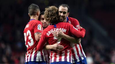 En fotos: Atlético superó por 2-0 a Girona y le metió presión al Barcelona antes de su duelo