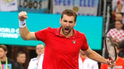 Copa Davis: Croacia y Argentina terminan el día empatados