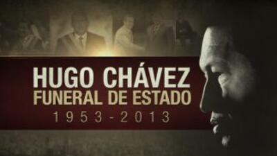 EN VIVO: Funeral de Estado de Hugo Chávez en la Academia Militar de Caracas