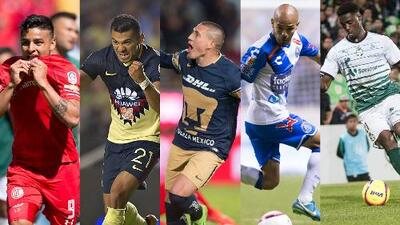 Vota ahora: ¿Cuál fue el Gol de la Jornada 1 del Clausura 2018 de la Liga MX?
