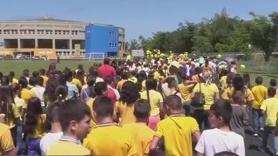 'Marcha amarilla' busca frenar el maltrato y el abuso infantil en el municipio de Aguada