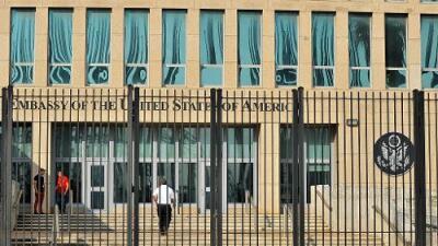 EEUU retira a más de la mitad del personal de su embajada en Cuba tras 'ataques acústicos'