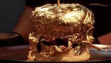 ¿Pagarías 60 dólares por esta hamburguesa de oro?