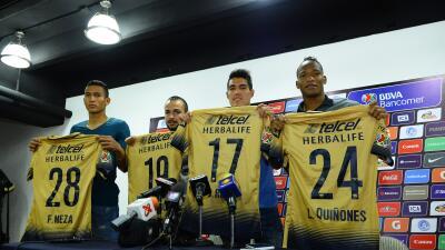 Pumas presentó a sus refuerzos para el Clausura 2016
