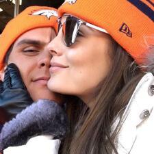 El frío no le hace nada a Ximena Navarrete. ¡Esta enamoradísima y disfruta de sus vacaciones!