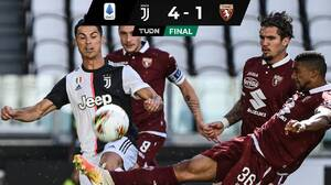 Juventus no pasa problemas, supera al Torino y se queda con el derbi de Turín
