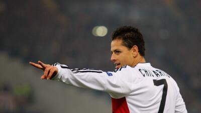 Javier 'Chicharito' Hernández es nominado a mejor gol de la Bundesliga