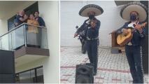 Con serenatas afuera de las casas, así celebraron en Ecuador el Día del Padre en tiempos de coronavirus
