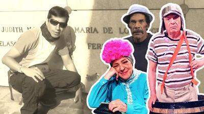 El video viral del fanático peruano que recorrió las tumbas de sus ídolos de El Chavo del 8
