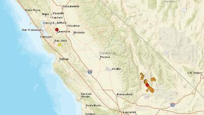 Dos nuevos sismos por encima de los 4 de magnitud mueven el norte de California