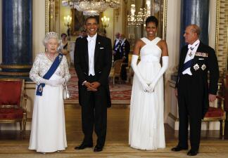 La excelente relación de Michelle Obama con la Reina Isabel y Letizia de España en imágenes