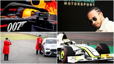 Red Bull con patrocinador especial, Button recorrió la pista y más en la previa del GP de Gran Bretaña