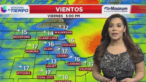 Ventana al Tiempo: Posibilidad de copos de nieve y lluvia en horas de la mañana este viernes en Chicago