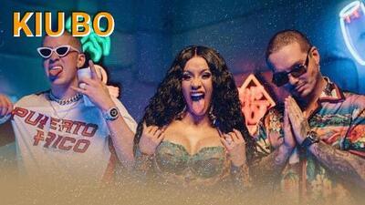 Cardi B, la rapera latina, rompió nuevo récord de la mano de J Balvin y Bad Bunny