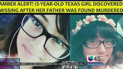 Adriana Coronado, niña desaparecida en Katy, corre grave peligro
