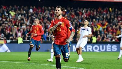 Sergio Ramos encaminado a romper récord de goles y partidos jugados en la Selección de España