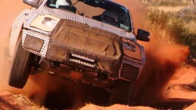 En Video: la Ford Ranger Raptor se hará realidad