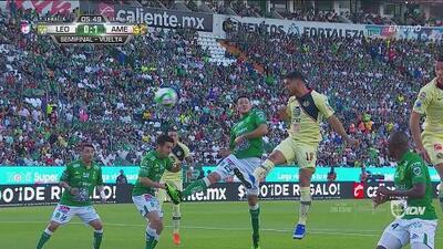 ¡Gol del América! Bruno Valdez pone adelante a las Águilas