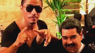 Critican a Maduro por comer en lujoso restaurante, mientras que en Venezuela niños sufren desnutrición