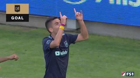 Colombiano Eduard Atuesta aprovecha 'horror' defensivo y capitaliza el segundo del LAFC