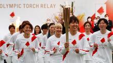 ¡Arde el fuego olímpico! Comienza la antorcha su recorrido