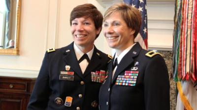 Generales del Ejército y hermanas: Maria y Paula podrían ser las primeras en la historia de Estados Unidos