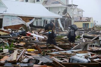 Todo en ruinas: el desolador paisaje de la destrucción de Dorian en las Bahamas