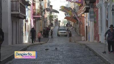 Todo listo para el tercer día de las fiestas de la calle San Sebastián