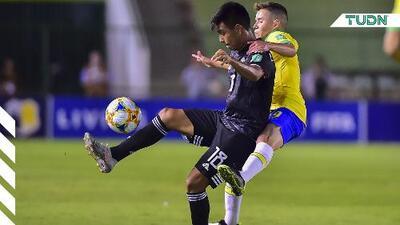 ¡Medio tiempo! Intenso empate a cero entre México y Brasil