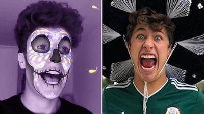 Juanpa Zurita diseña una catrina y hace posible que el Día de Muertos se tome Instagram