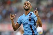 """""""Muy contento por el triplete"""": Héber alza la mano como uno de los goleadores de Concacaf"""