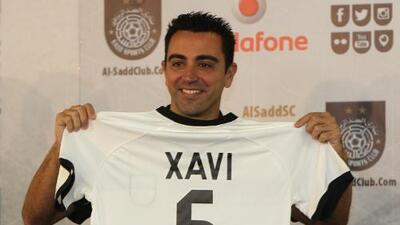 Xavi es presentado oficialmente como nuevo jugador del Al Sadd de Catar