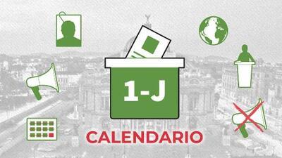 Calendario electoral: estas son las fechas clave para los comicios en México