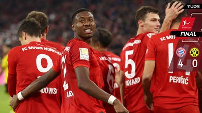 ¡Golpe del Bayern! De la mano de Lewandowski golean al Borussia