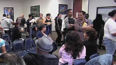 En medio de la angustia, salvadoreños realizan una vigilia en apoyo al TPS