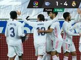 Real Madrid golea al Alavés sin Zidane y con doblete de Benzema