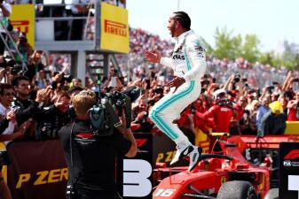 En fotos: En medio de la controversia Lewis Hamilton gana el GP de Canadá