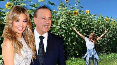 Tommy Mottola no le regaló otro carro (que sepamos) a Thalía en su cumpleaños 48 pero sí mucha paz y felicidad