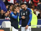 Griezmann elogia a Giroud tras ataque de Benzema