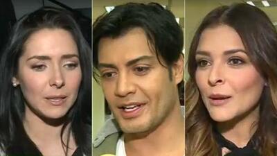Ariadne Díaz y Andrés Palacios dieron detalles de sus personajes en 'Tenías que ser tú'