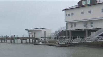 Con vientos huracanados y marejada ciclónica, Dorian podría causar estragos en Carolina del Sur