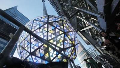 Times Square se prepara para fin de año