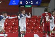 Atalanta se la regresa al Liverpool en Champions