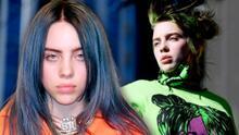 Billie Eilish empodera a mujeres y modela en lencería para la portada de Vogue