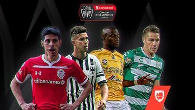 Comienza la vuelta de los Octavos de Final de la Concachampions y solo Santos llega con ventaja