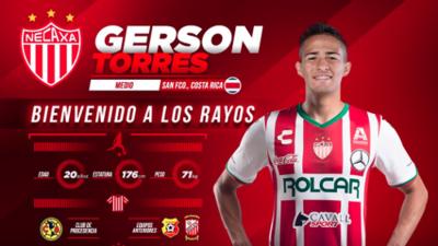 Gerson Torres es nuevo refuerzo del Necaxa