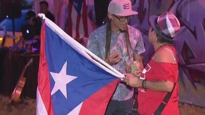 Día histórico: así celebraron los puertorriqueños del sur de Florida la salida de la gobernación de Rosselló